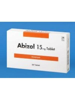 ABIZOL 15 mg. 28 tablets