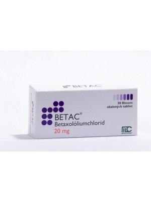 Betac 20 mg. 30 tablets