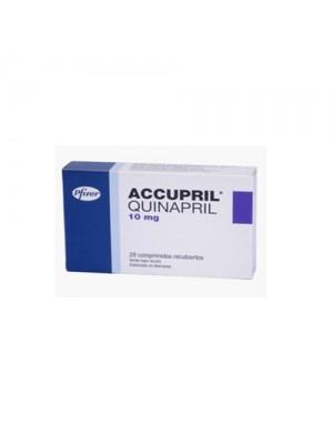Quinapril 10 mg. / 12.5 mg. 30 tablets
