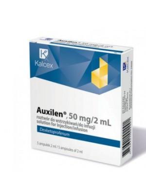Auxilen 50 mg / 2 ml. 5 ampules