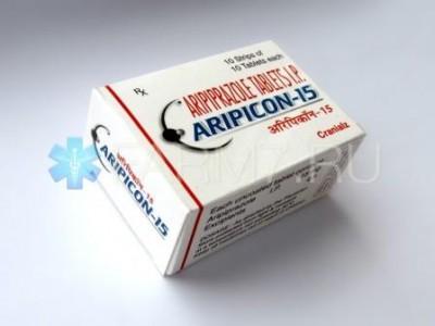 Aripicon 15 mg. 28 tablets