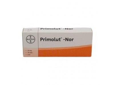 Primolut Nor 5 mg. 30 tablets