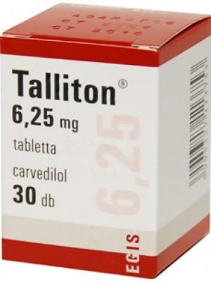Talliton 6.25 mg. 30 tablets