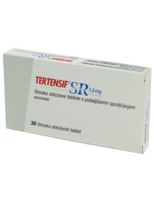 Tertensif SR 1.5 mg. 30 capsules