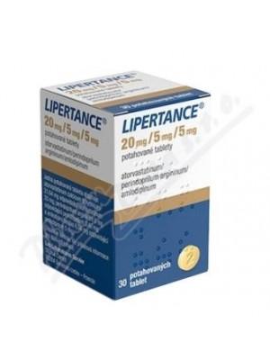 Lipertance 20 mg. / 5 mg. / 5 mg. 30 tablets
