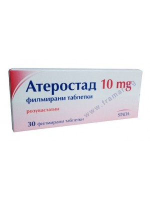 Aterostad 10 mg. 30 tablets