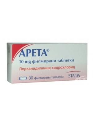Areta ACE 10 mg. / 10 mg. 30 tablets