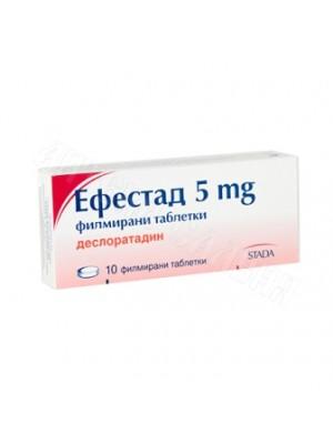 Efestad 5 mg. 10 tablets