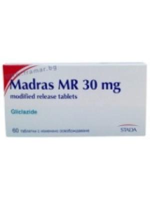 Madras MR 30 mg. 60 tablets