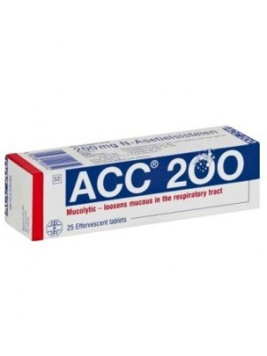 ACC 200. 20 tablets