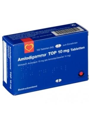 Amlodigamma 10 mg. 30 tablets