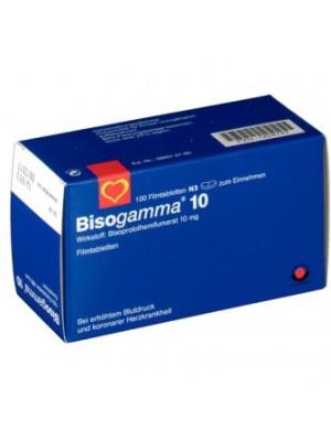 Bisogamma 10 mg. 30 tablets