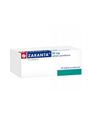 Zaranta 15 mg. 30 tablets