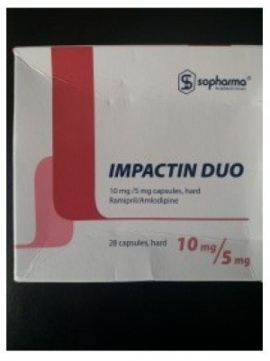 Impactin Duo 10 mg. / 5 mg. 28 capsules