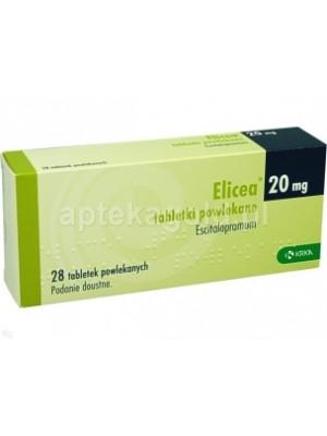 Elicea 20 mg. 28 tablets