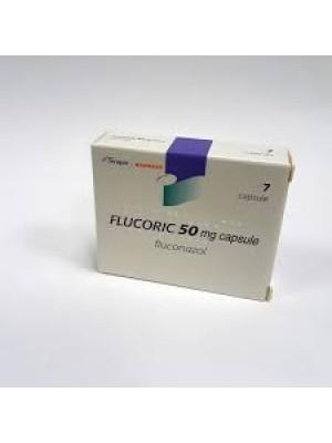 Flucoric 50 mg. 7 capsules