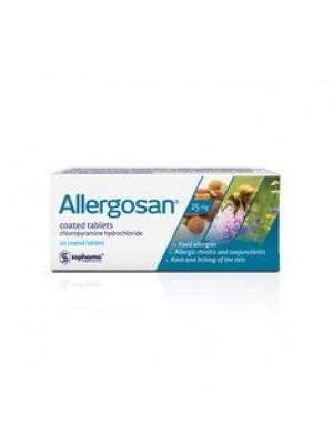 Alergosan 25 mg. 20 tablets