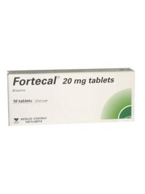 Fortecal 20 mg. 10 tablets