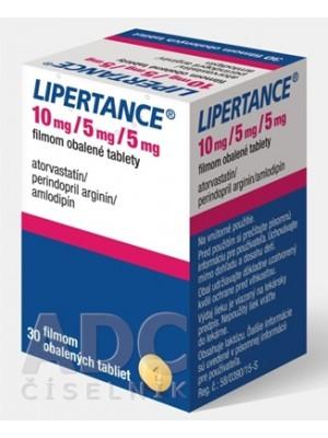 Lipertance 10 mg. / 5 mg. / 5 mg. 30 tablets