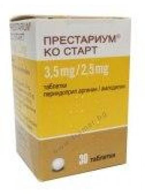 Prestarium Co start 3.5 mg. / 2.5 mg. 30 tablets
