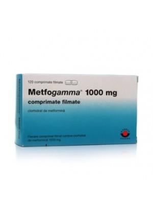 METFOGAMMA 1000 mg. 30 tablets