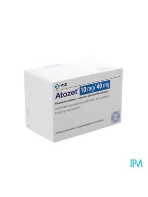 ATOZET 10 mg. / 40 mg. 30 tablets