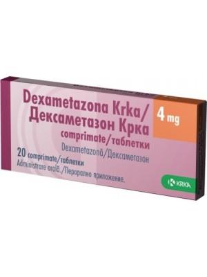 Dexametazona 4 mg. 20 tablets