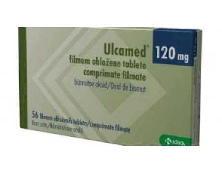 Ulcamed 120mg. 56 tablets