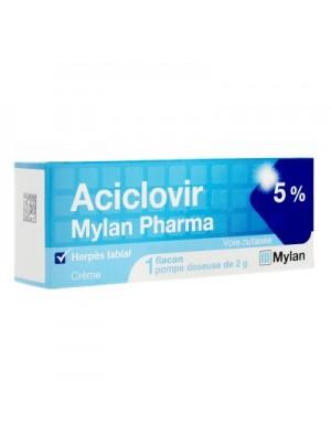 Aciclovir cream 5g.
