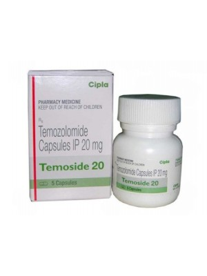 Temozolomide 20 mg. 5 capsules