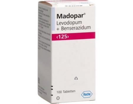Madopar 125 mg. 100 tablets