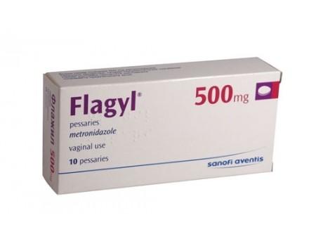 Flagyl 500mg. 10 pessaries