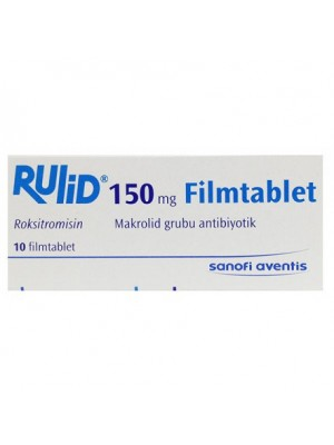RULID 150 mg. 10 tablets