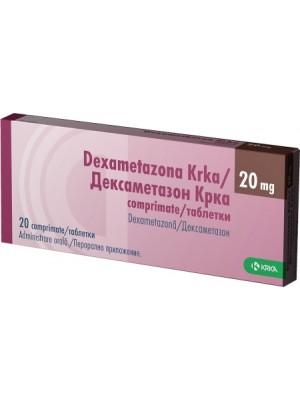 Dexametazona 8mg. 20 tablets