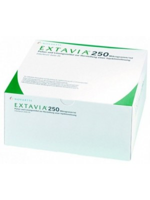 Extavia 250 mcg. 15 vials