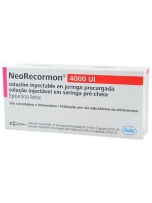 Neorecormon 4000 IU. 1 syringe
