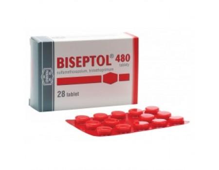 BISEPTOL 480 mg. 28 tablets