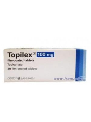 TOPILEX 100 mg. 30 tablets