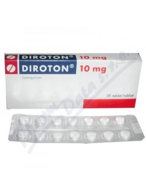 Diroton 10 mg. 28 tablets