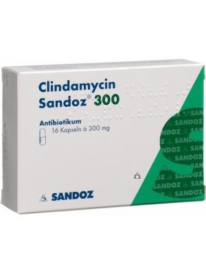 Clindamycin 300 mg. 16 tablets