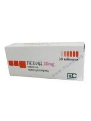 LEVID 50 mg. 30 tablets