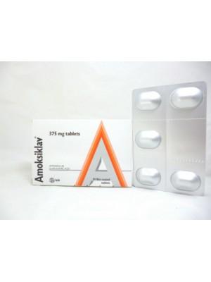 AMOKSIKLAV 375 mg. 15 tablets