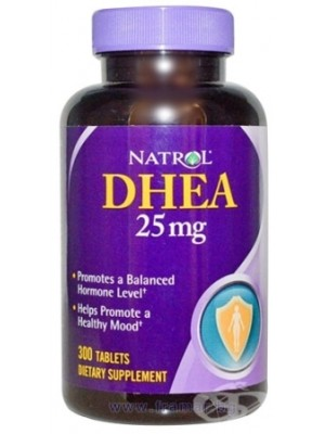 DHEA 25 mg. 300 tablets