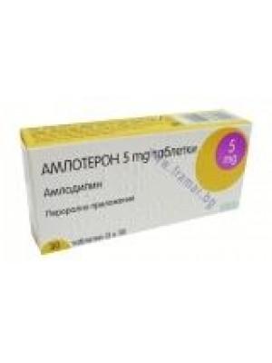 AMLOTERON 5 mg. 30 tablets