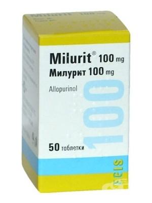 MILURIT 100 mg. 50 tablets