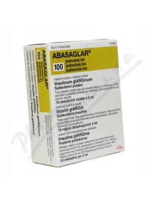 ABASAGLAR 100 IU / ml. 3 ml. 10 vials