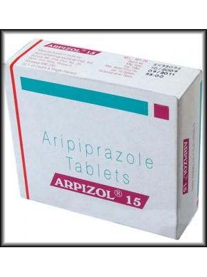 Aripiprazole 15 mg. 28 tablets