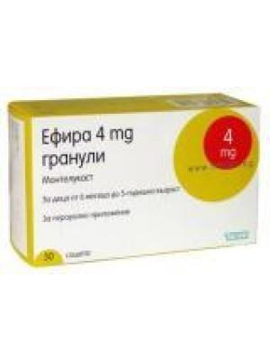Ephyra 4 mg. 28 tablets