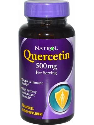 Quercetin 500 mg. 50 tablets