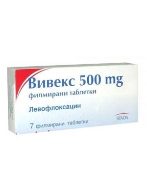 VIVEX 500 mg. 7 tablets